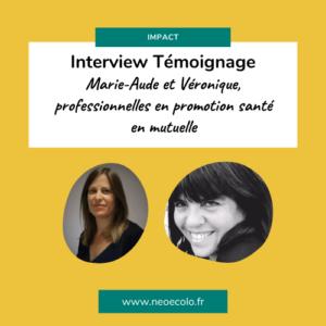 interview chargé promotion santé mutuelle témoignage